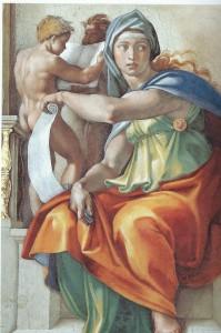 Michelangelo The Delphic Sibyl