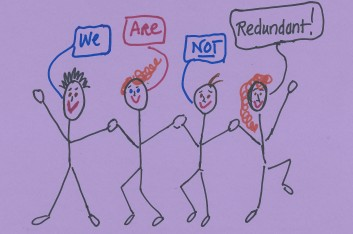 we are not redundant cropped