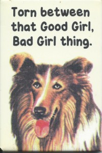 Lassie CROP Good Girl Bad Girl