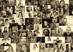 KIND scrapbook of faces photo-montage-556806__180