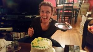 BIRTHDAY FUNNY 03 Apr Amy & her Cake