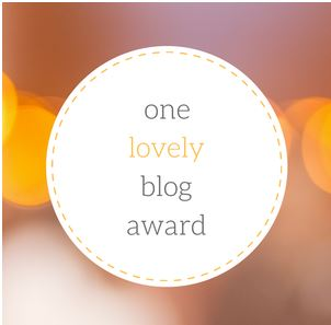 AWARD One Lovely Blog award Capture